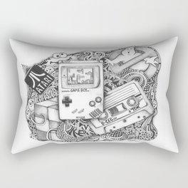 Fragments of Childhood Rectangular Pillow