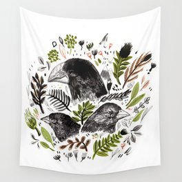 DARWIN FINCHES Wall Tapestry