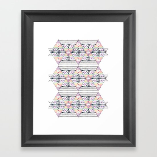 Aztec 2 Framed Art Print