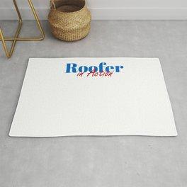 Happy Roofer Rug