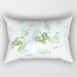 180515 Watercolour Abstract  Wp 17  Watercolor Brush Strokes Rectangular Pillow
