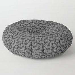 Dachshund Silhouette | Wiener Dog Floor Pillow