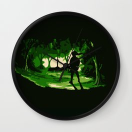 link zelda art Wall Clock