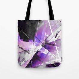 Breakwave - Geometric Abstract Art Tote Bag