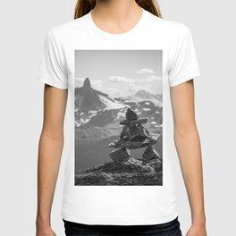 Black Tusk and the Inukshuk T-shirt