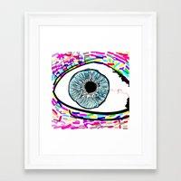 iris Framed Art Prints featuring Iris by Beyond Infinite