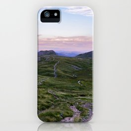 Hanging Knotts and the Langdale Pikes iPhone Case