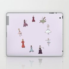 Nine Ladies Dancing Laptop & iPad Skin