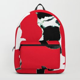 Benji the Cat Red Backpack