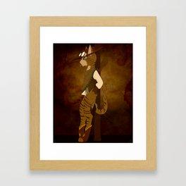 American Shorthair Framed Art Print