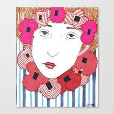 Diane Canvas Print