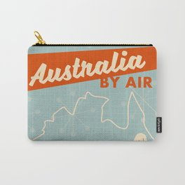 Australia Vintage style travel poster Carry-All Pouch