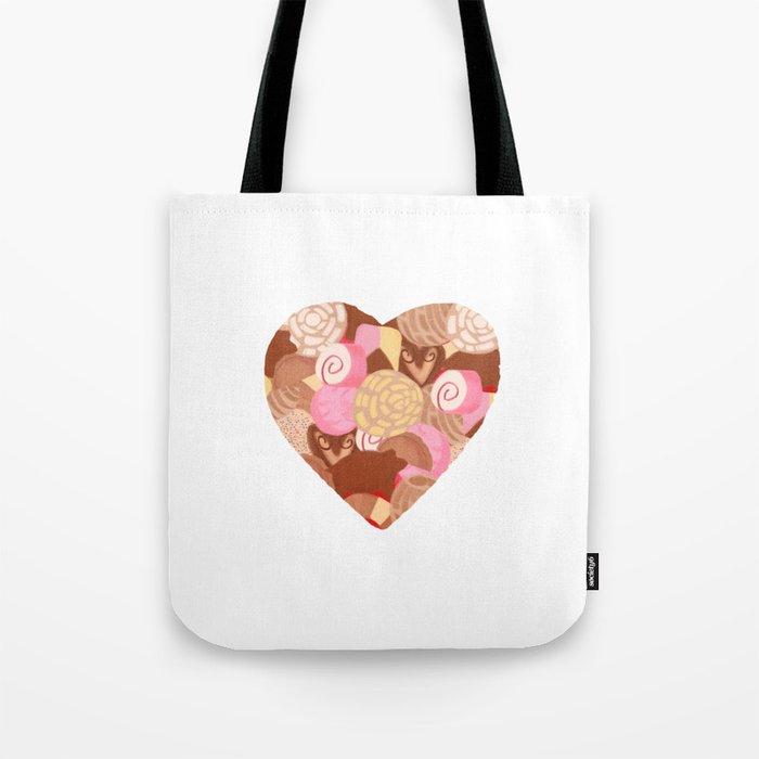 Corazón De Pan Dulce Tote Bag