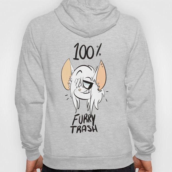 furry trash Hoody