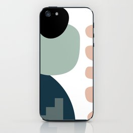 Shape study #18 - Stackable Collection iPhone Skin