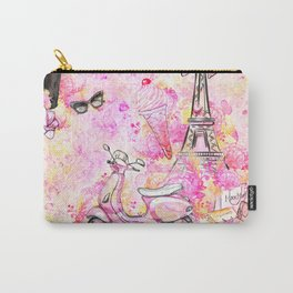 Fashion and Paris #5 Carry-All Pouch