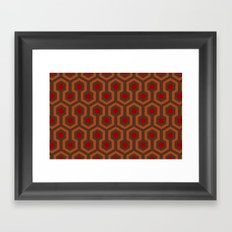 The Overlook Rug Collection Framed Art Print