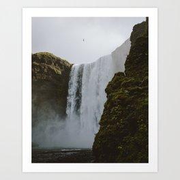 Skogafoss Iceland Art Print