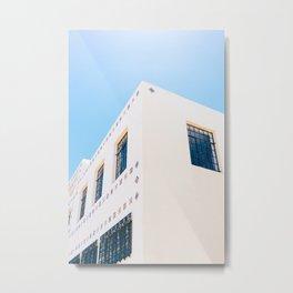 Marfa Brite Building Metal Print