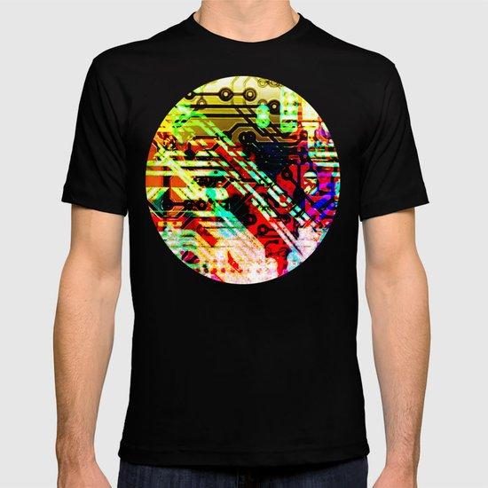 Color circuit T-shirt