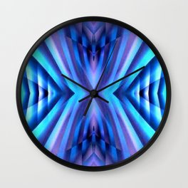 Blue Inpiration Wall Clock