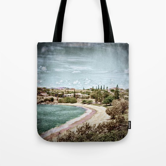 Living by the ocean Tote Bag