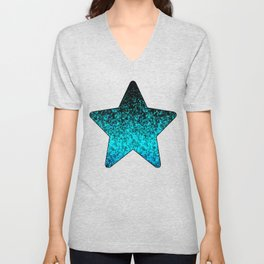 Glitter Dust Background G162 Unisex V-Neck