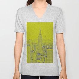 Empire State - Green Unisex V-Neck
