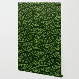 Microcosm in Green Wallpaper