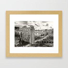 Rome, Imperial Forums Framed Art Print