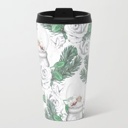 Snow globes and roses Travel Mug