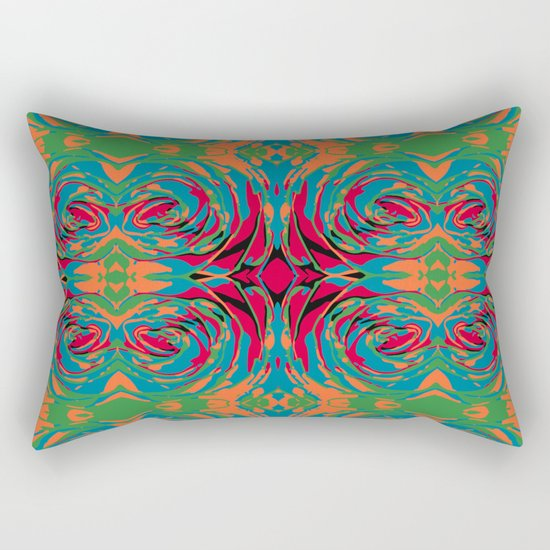 baroque pop Rectangular Pillow