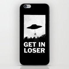 Get In Loser iPhone & iPod Skin