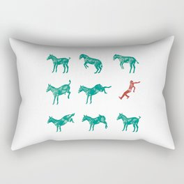 Mule Rectangular Pillow