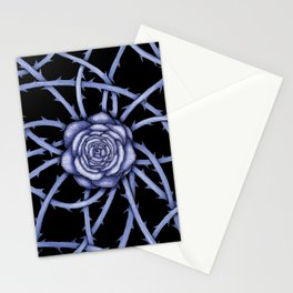 Rose Adversity Art Stationery Cards