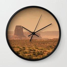 Desert Warmth Wall Clock