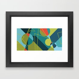 Morse Frequencies Framed Art Print