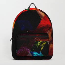 GEO COSMIC - Geometric, Abstract, Space Art Backpack