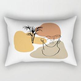 Antique Feeling #1 Rectangular Pillow