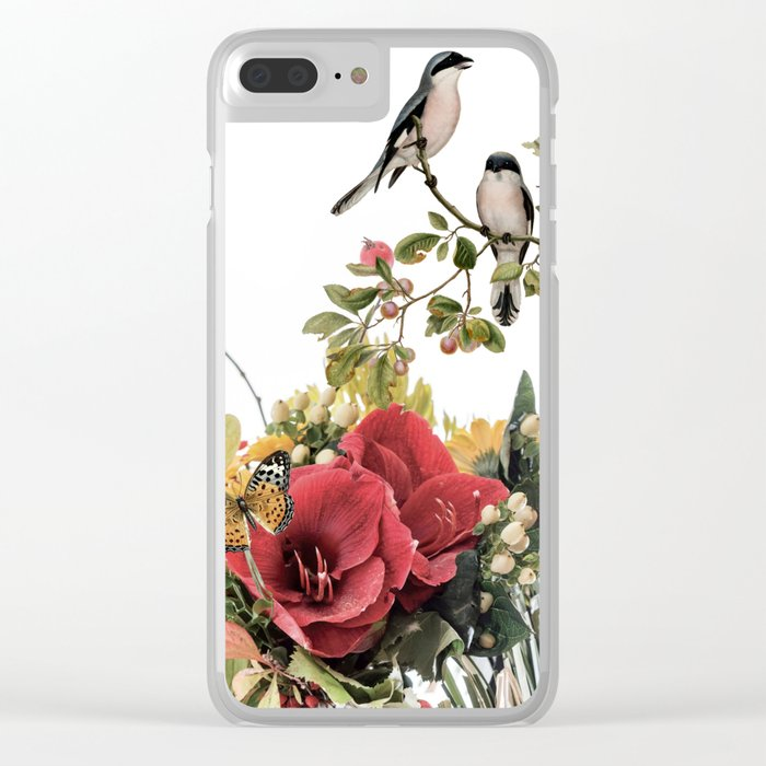 FLOURISHING Clear iPhone Case