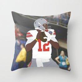 Ohio State Buckeyes - Cardale Jones (2015) (Vector Art) Throw Pillow