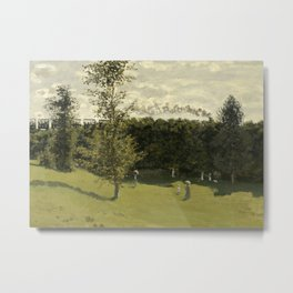 Train in the Countryside Metal Print
