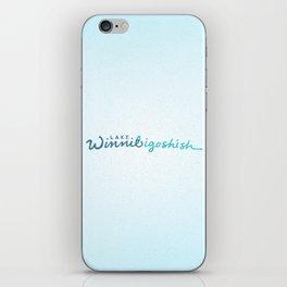 Lake Winnibigoshish iPhone Skin