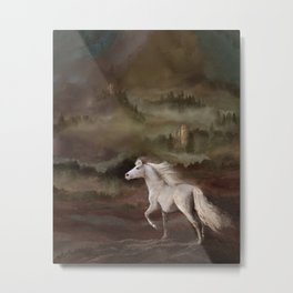 Storybook Stallion Metal Print