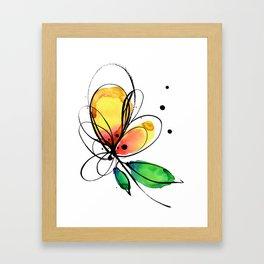 Ecstasy Bloom No.8 by Kathy Morton Stanion Framed Art Print