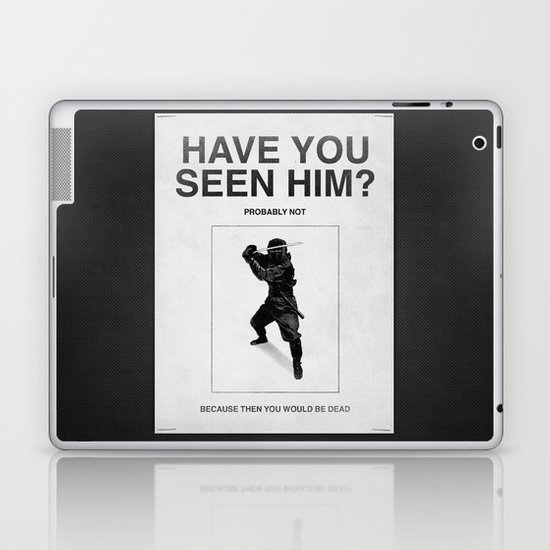 Have you seen him? Laptop & iPad Skin