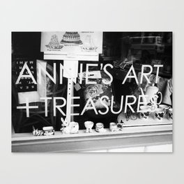 Art Treasure Canvas Print