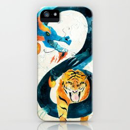 Dragon & Tiger iPhone Case