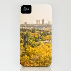 Fall in the city iPhone (4, 4s) Slim Case