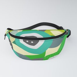 Bright tropical vibe Fanny Pack